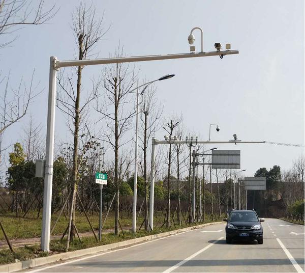 长沙市滨河路道路交通设施电警安装工程