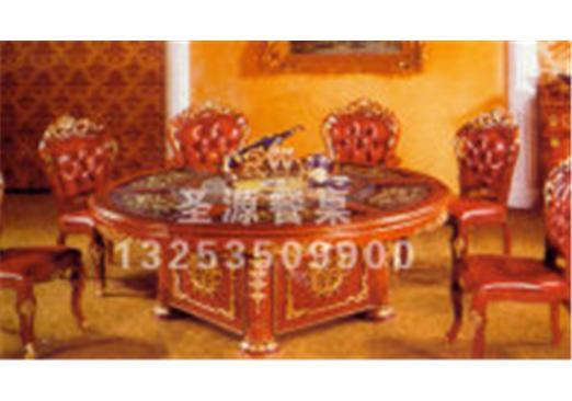 欧式餐桌--尽享高端典雅