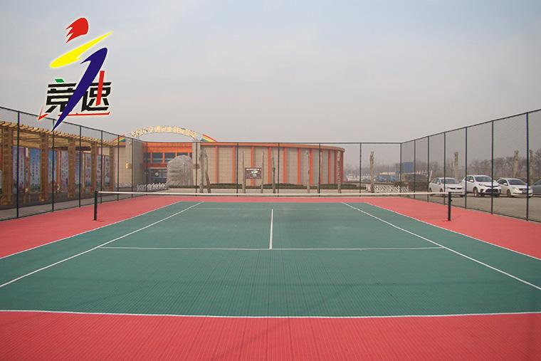 安阳交警队网球场(拼装地板场地)
