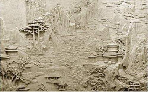 砂岩石材地缝施工工序和注意事项