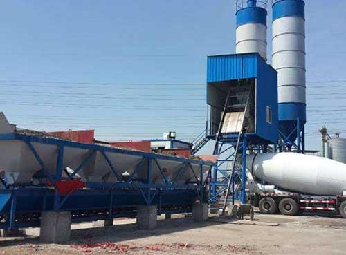 混凝土搅拌站的发展开拓了环保新发展