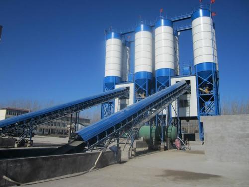 混凝土搅拌站三个物流输送系统