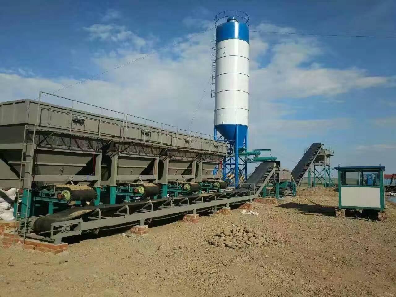 讲讲水稳拌和站可拌合水泥石灰稳定土类基层材料