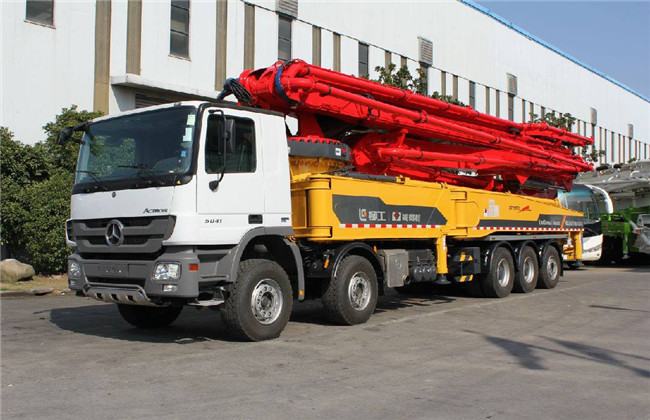 混凝土泵车维修