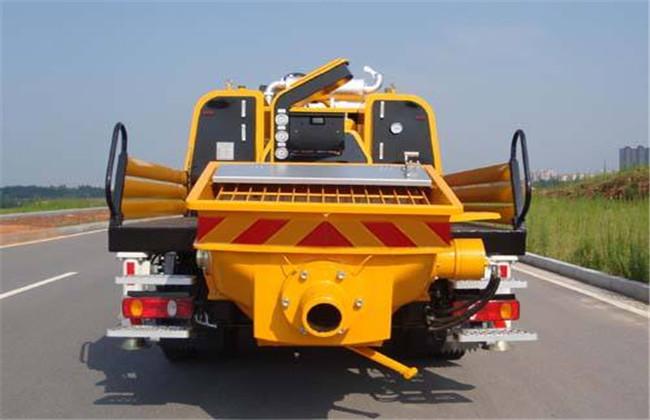车载式水泥搅拌车维修