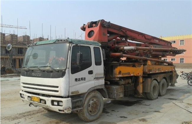 三一重工混凝土泵车维修
