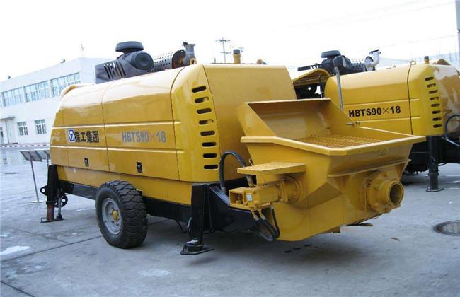 拖式混凝土泵车维修