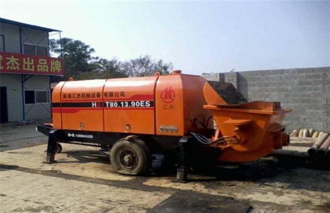 拖泵维修案例