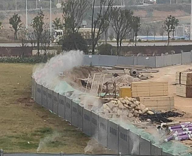 建筑工地喷淋系统