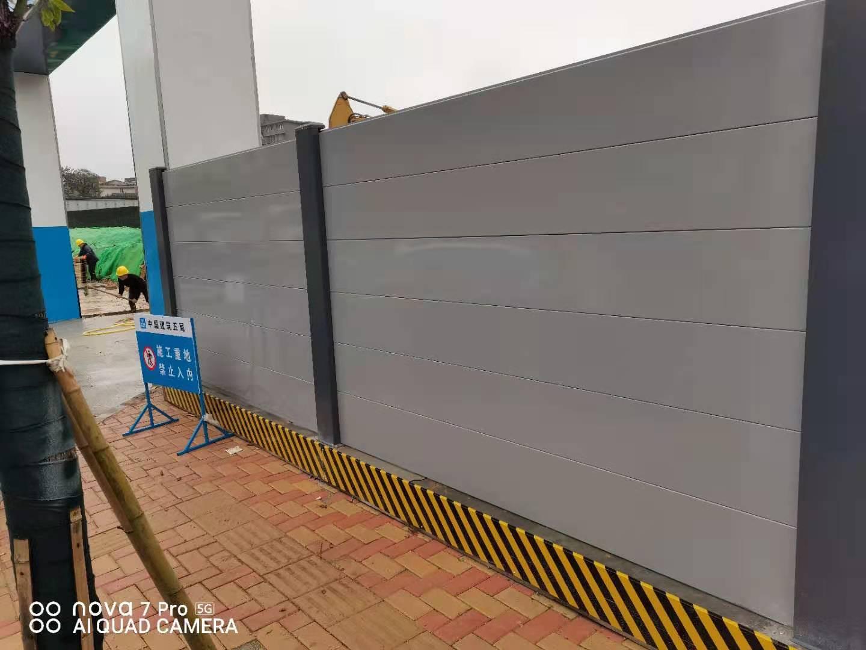 围挡租赁厂家介绍新型钢结构围挡的作用