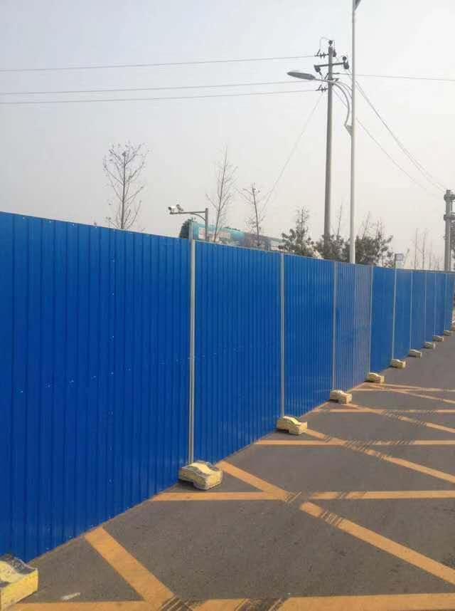 长沙围挡租赁厂家分享彩钢围挡的特点