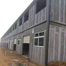 轻质板钢结构厂房外墙墙体