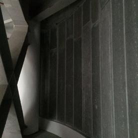 轻质板弧形墙体