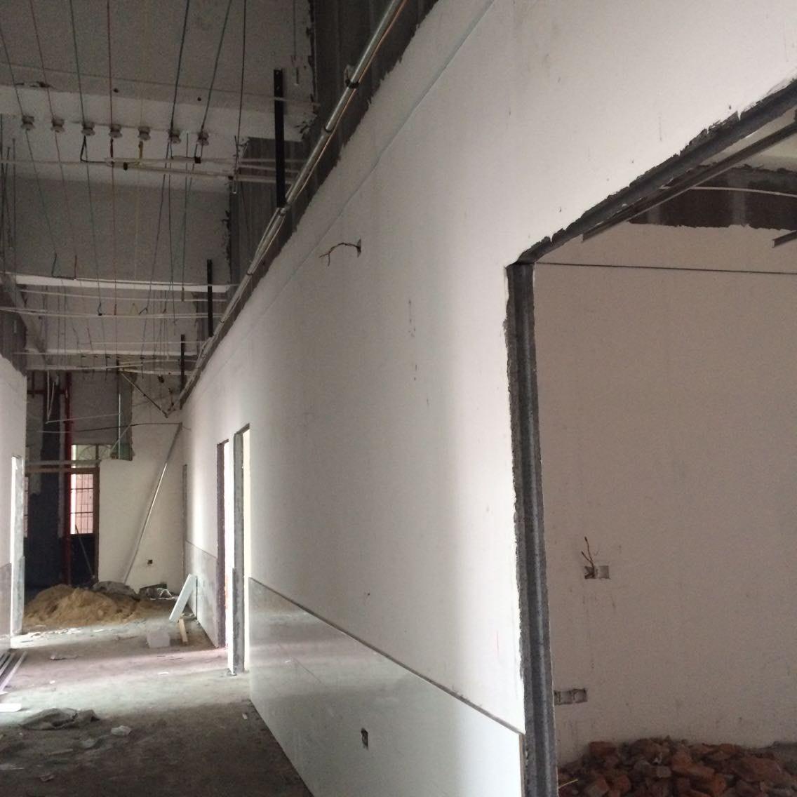 湖南轻质隔墙板墙面施工