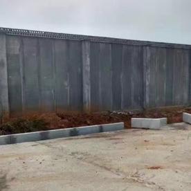 轻质板围墙墙体