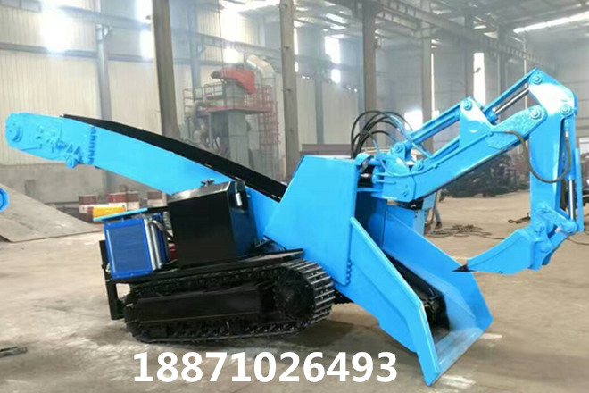 新疆矿用履带扒渣机整机发掘局部选用大流量油缸