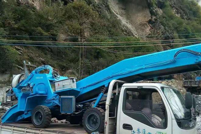 河北邯郸矿用扒渣机安全抵达