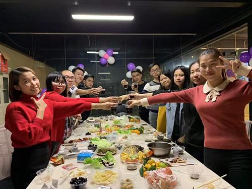 团结一致!兴大业公司成员一起组织茶话会