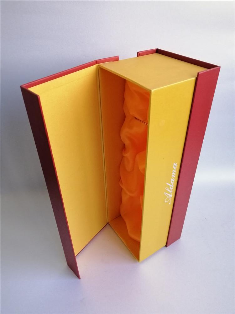 酒类包装礼盒设计中,通常会采用哪些材质?