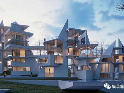指向天空,俯瞰山海:土耳其阿拉尼亚别墅群