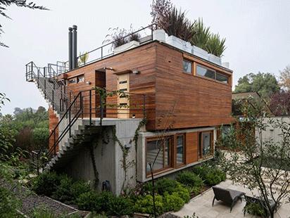 一抹暖色,隐于青葱:智利RH别墅