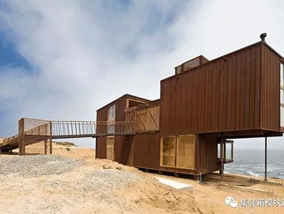 智利集装箱海滨住宅-面朝大海,春暖花开