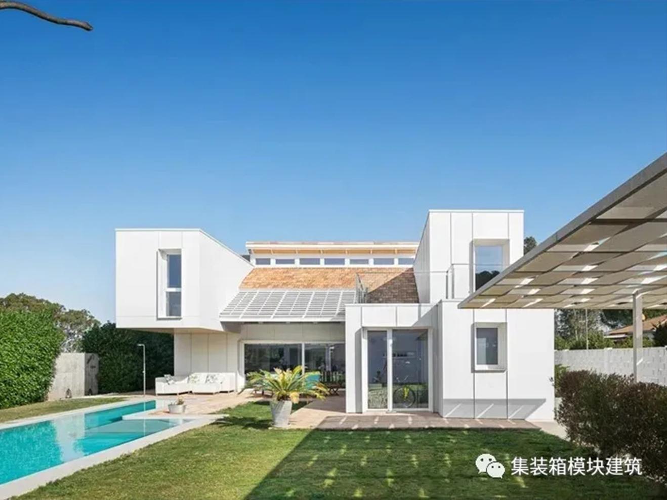 建起来多、快、好、省的白色豪华别墅上线!!