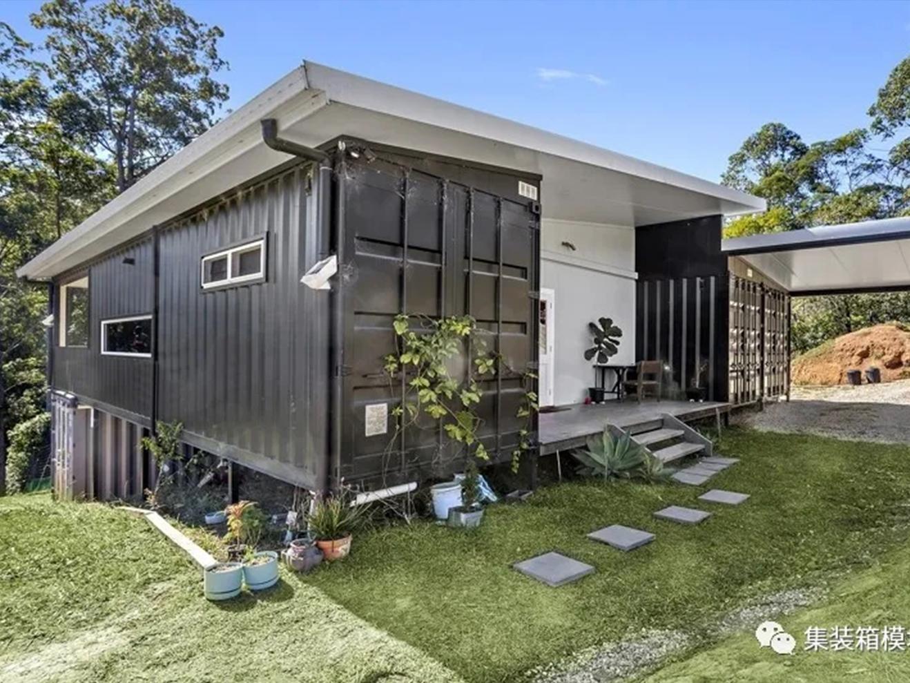 集装箱打造的具有生态意识功能性房屋!