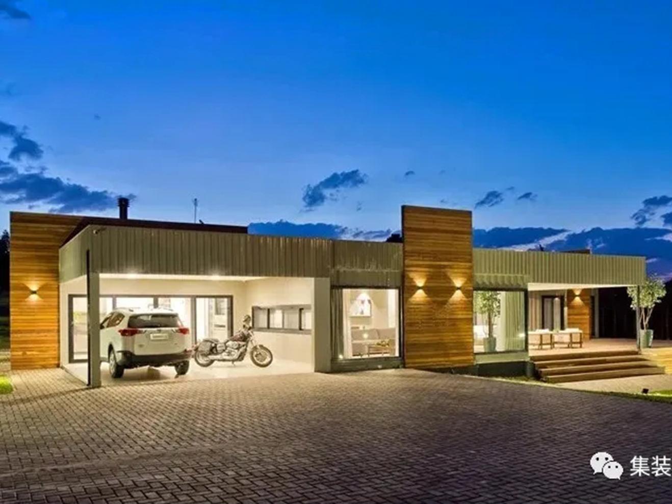 重用转变,创新、美学和功能性结合的开放式【集装箱住宅】!