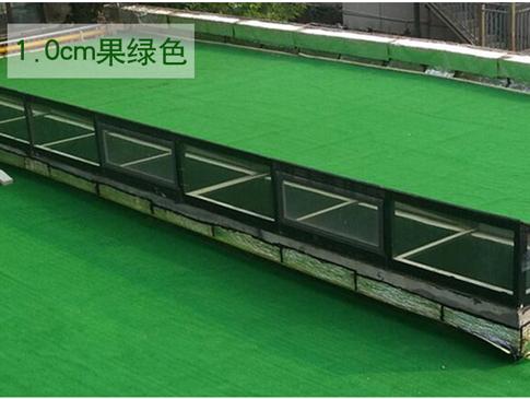 屋顶绿化人造草坪案例