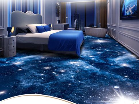 3D-450克割绒涤尼印花地毯