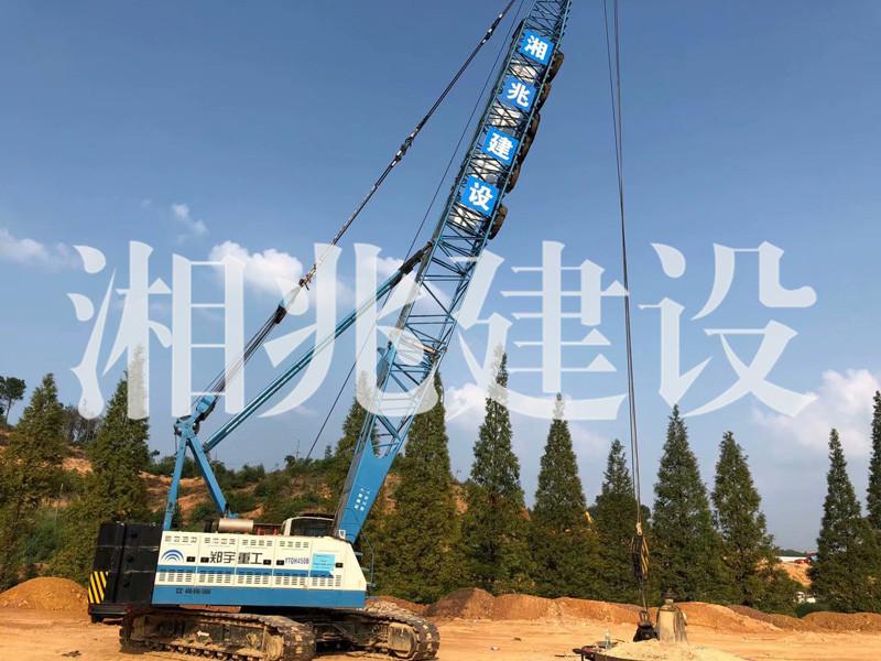 东方红建设集团总部基地强夯项目