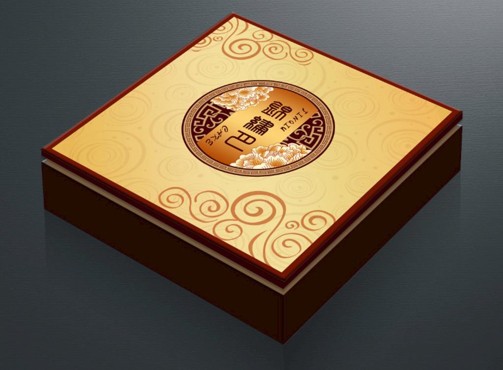 湖南月饼包装盒设计