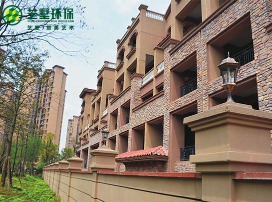 珠江 郦城楼盘EPS&GRC线条工程案例