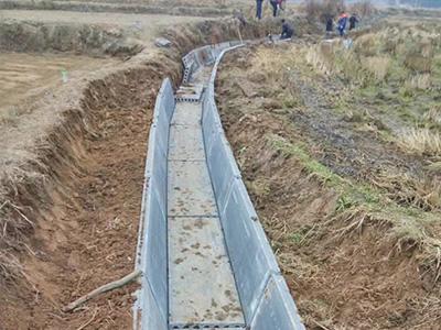 輕質隔牆水渠