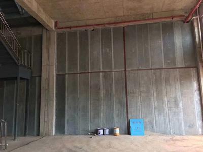 轻质隔墙板梁柱安装