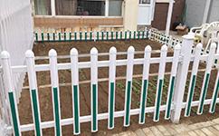 塑钢田园护栏
