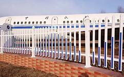 塑钢院墙护栏