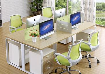 开放式办公桌椅7240