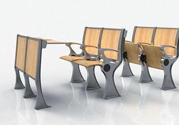 学生桌椅排椅PY-005