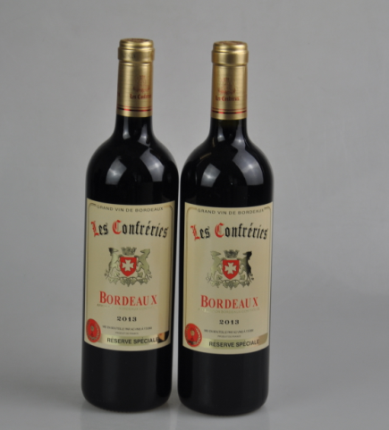 法国拉金波尔多干红葡萄酒