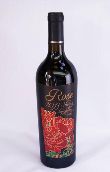 澳大利亚玫瑰希拉干红葡萄酒