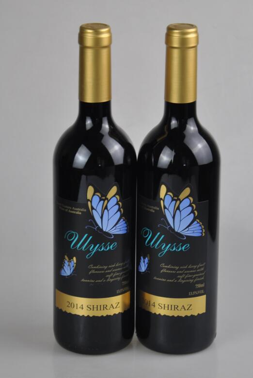 澳大利亚蓝蝶希拉红葡萄酒