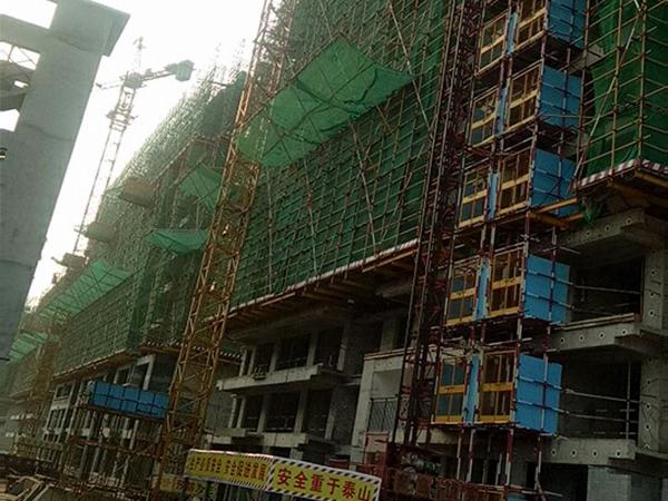 潍坊挤塑板工程案例
