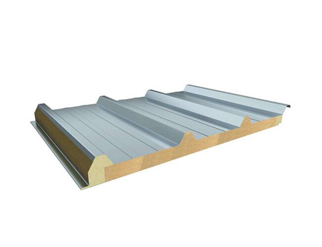 不锈钢岩棉夹芯板