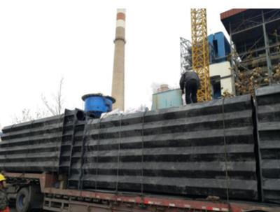 工业废气处理施工现场