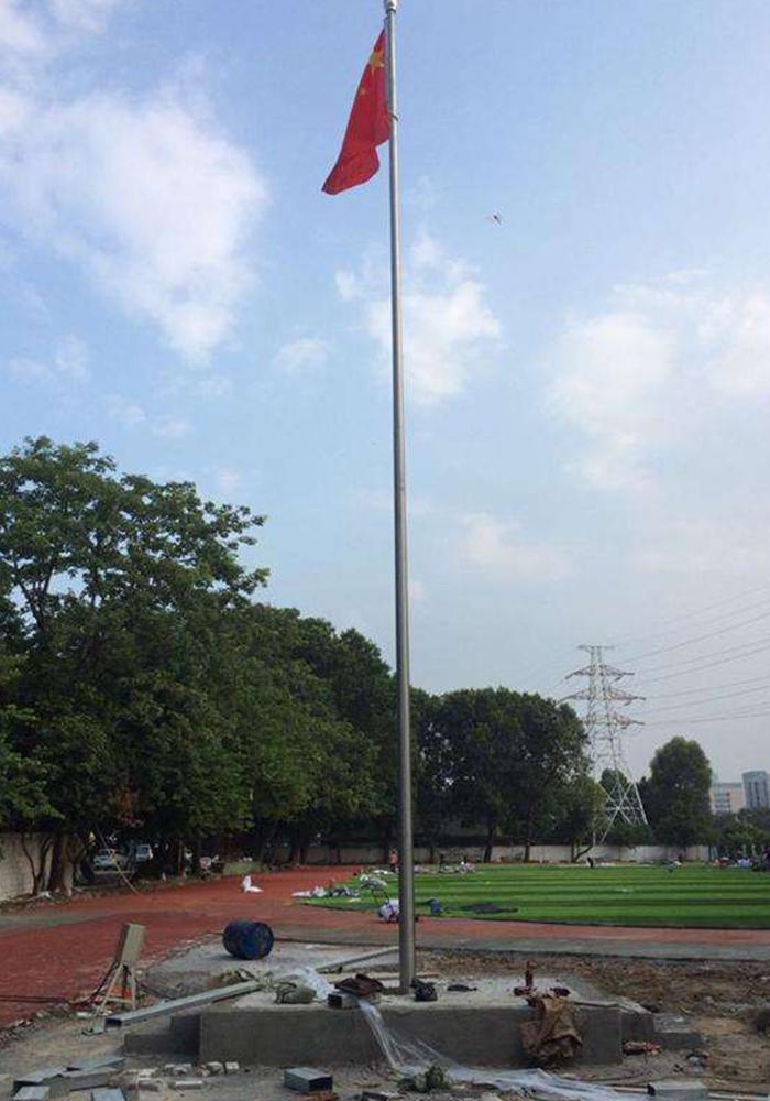 自动国旗杆