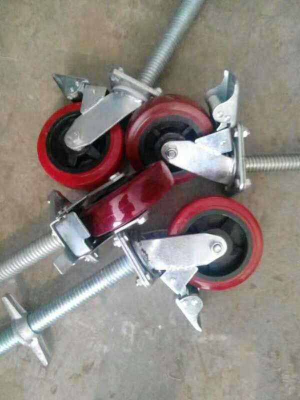不同型号脚手架脚轮