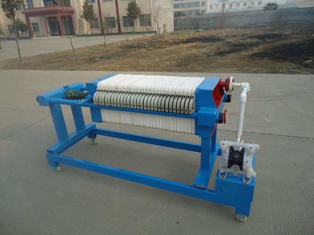 板框压滤机的工作流程介绍