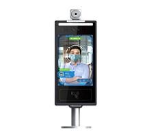 六盘水汉王(Hanvon)M0816G智能人脸考勤机非接触式人证核验终端8英寸触屏 琥珀版(测温闸机版)